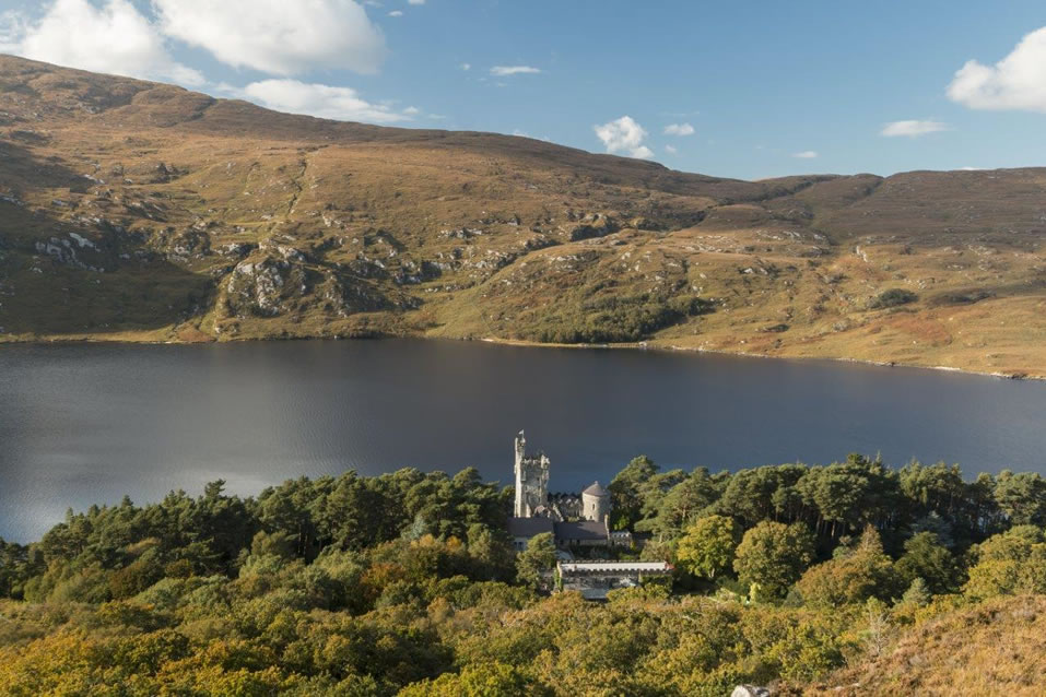 Glenveagh Castle and Loch, County Donegal, Ireland